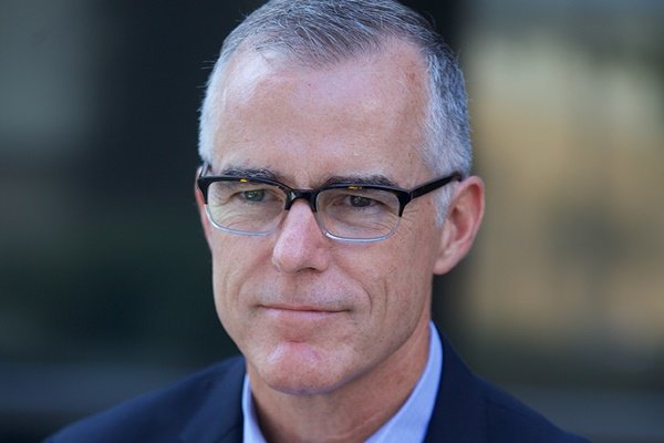 Dinner with Andrew McCabe, Former FBI Acting Director