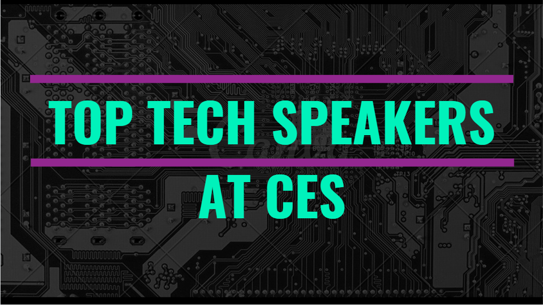 Top Tech Speakers at CES
