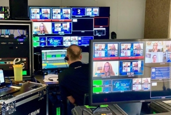 Virtual broadcast event production