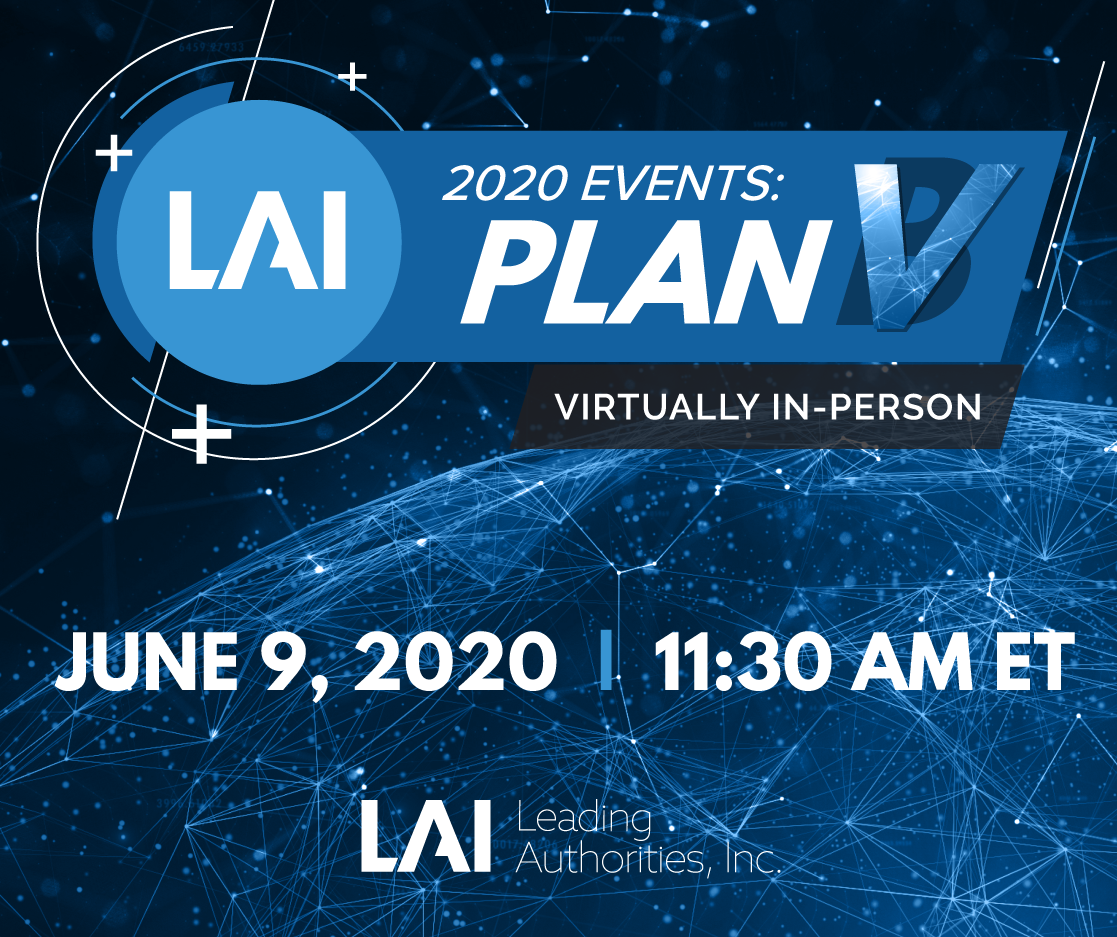 LAI Plan V Virtually In-Person Event June 9, 2020