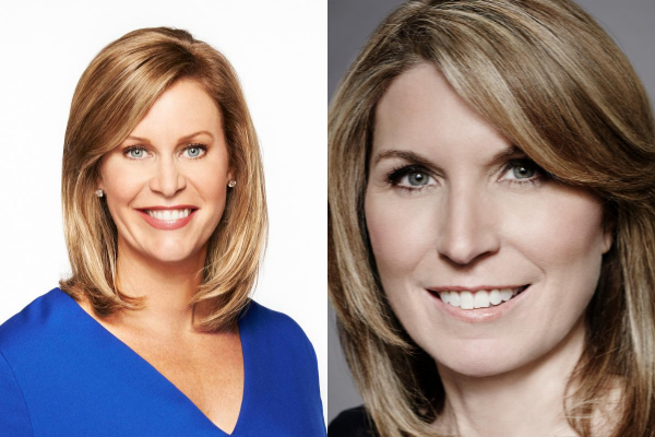 Stephanie Cutter and Nicolle Wallace