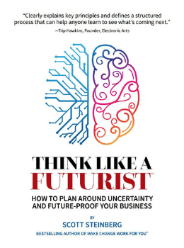 Scott Steinberg's Book Think Like a Futurist