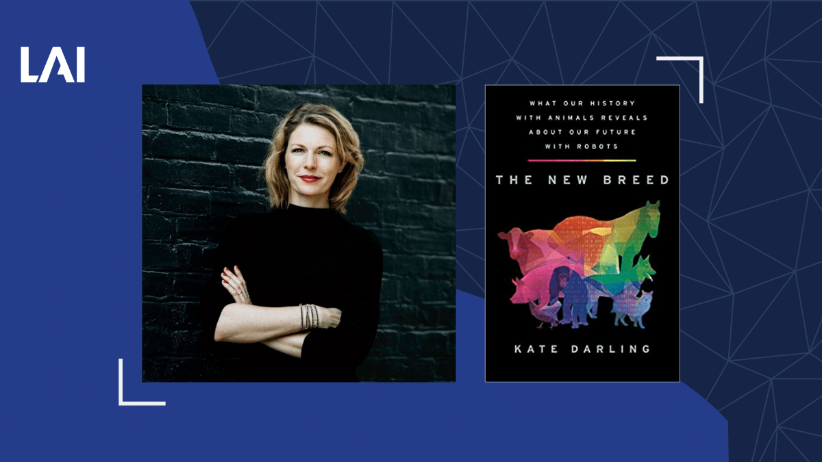 Kate Darling's Book The New Breed