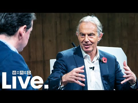 Greg Williams Interviews Former Prime Minister Tony Blair