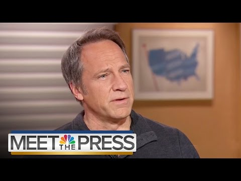 Mike Rowe: The Value Of Work | Meet The Press