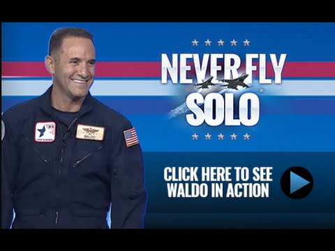 Waldo Waldman: Never Fly Solo Demo 2015
