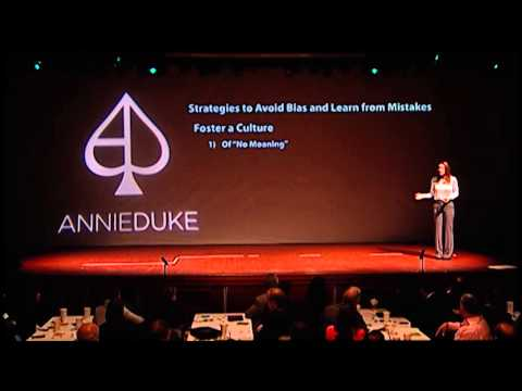 Annie Duke: Strategies To Avoid Bias and Learn From Mistakes