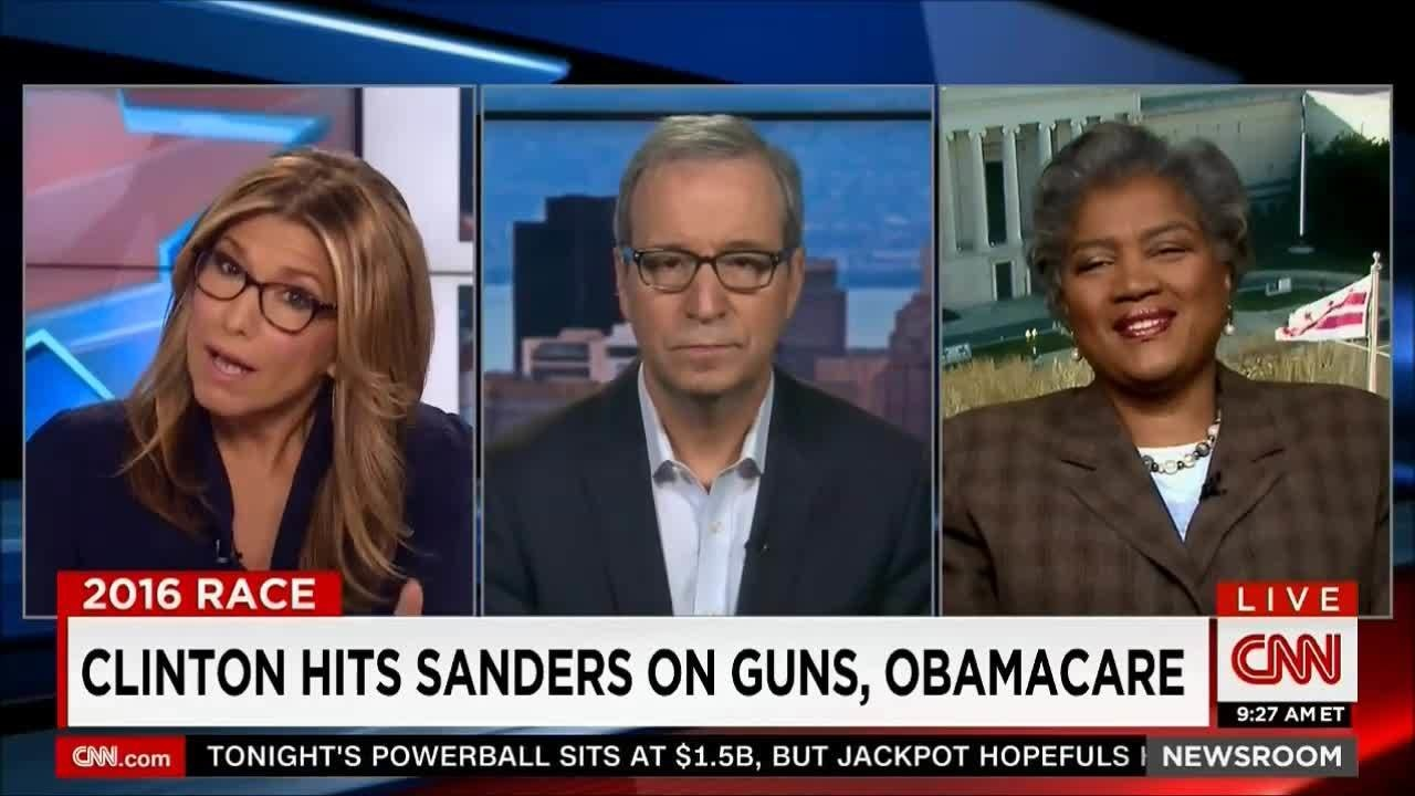 Ron Brownstein & Donna Brazile: CNN 2016 Presidential Campaign Insights