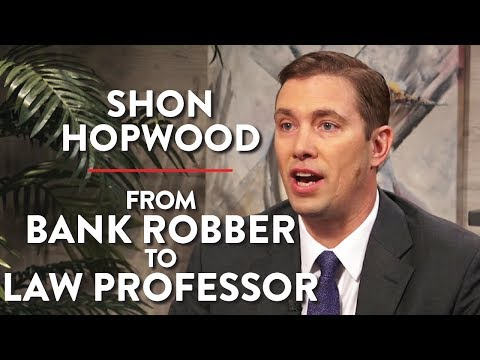 Shon Hopwood: From Bank Robber To Law Professor