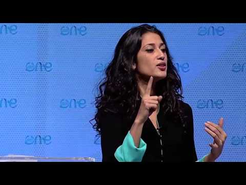 Fatima Bhutto Addresses The Women'Up Special Session: One Young World Summit 2012