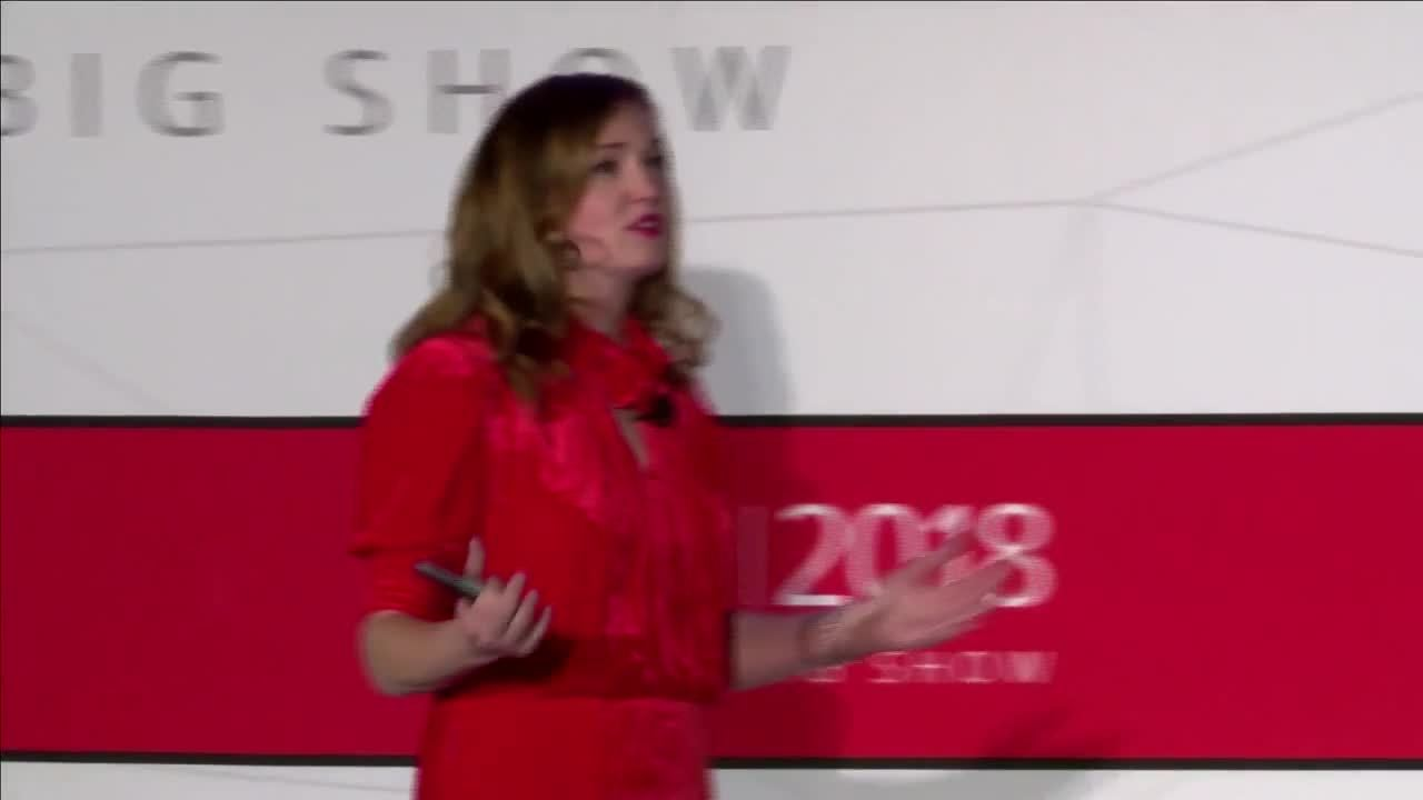 Kate Ancketill, Emerging Trends Expert, at NRF 2018