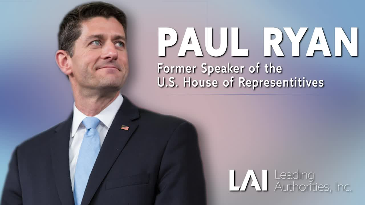 Paul Ryan: An Optimistic Look At Washington