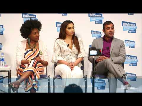 Eboni Williams Moderates Black Enterprise Panel