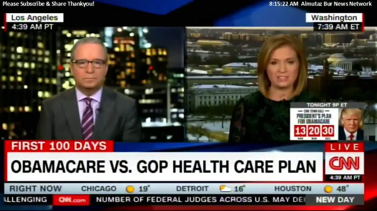 Ron Brownstein & Jackie Obamacare VS. GOP Health Care Plan