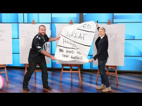 Jon Dorenbos on Ellen