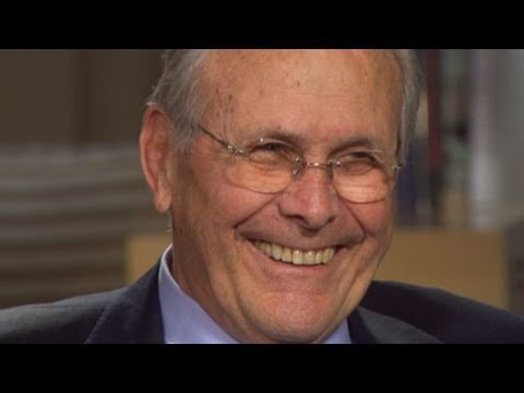 Donald Rumsfeld Exclusive Interview with Diane Sawyer