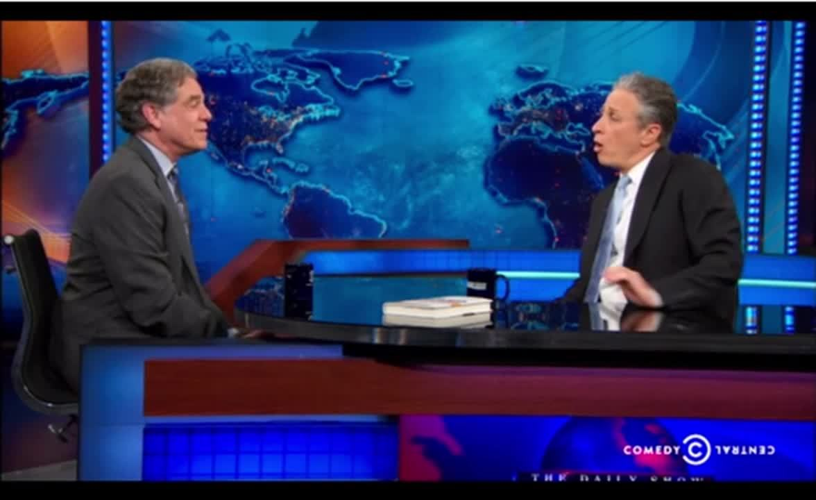 Paul Taylor on the Daily Show