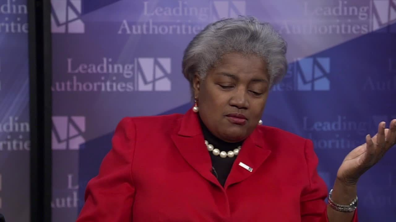 Political Powerhouse Duo: Haley Barbour and Donna Brazile