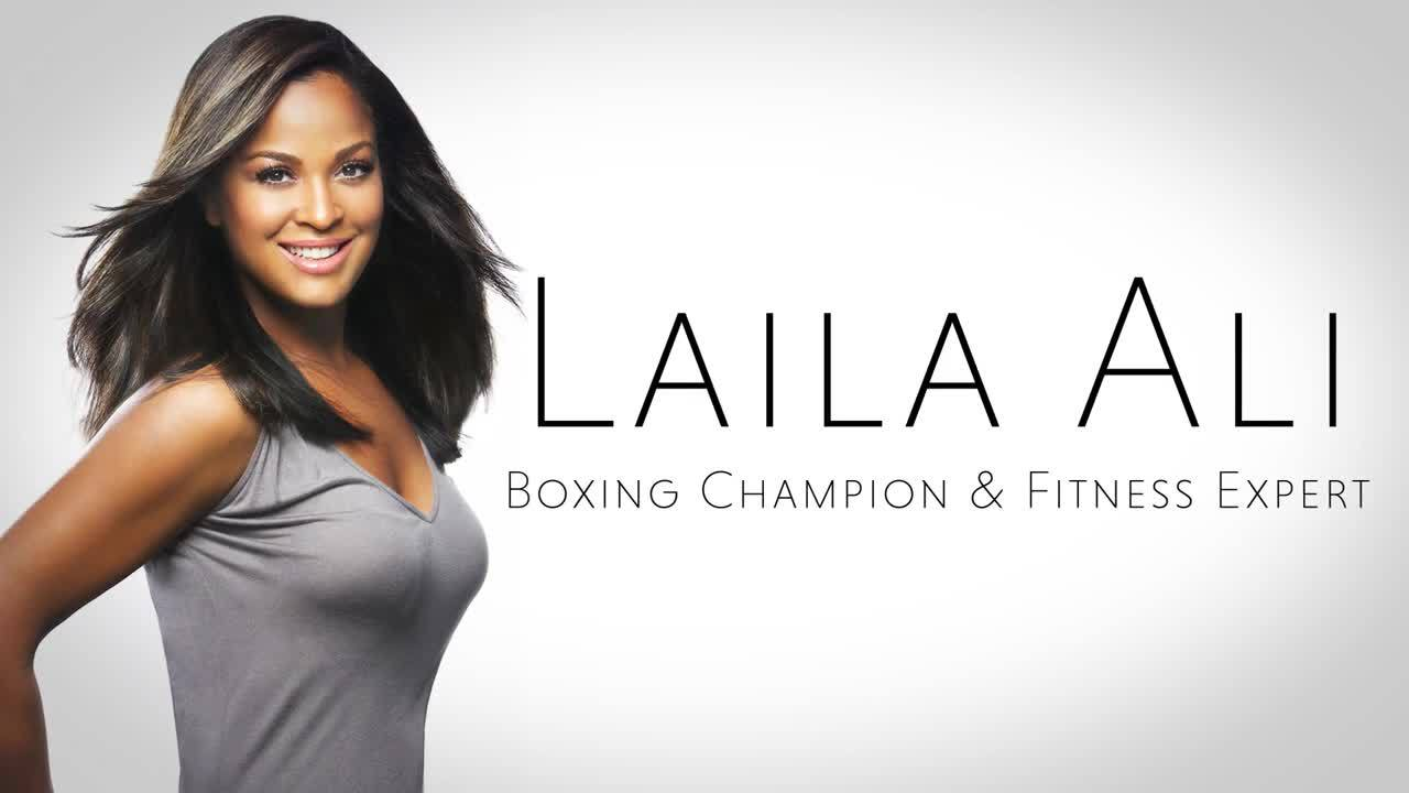 "Laila Ali on ""Going All In"""