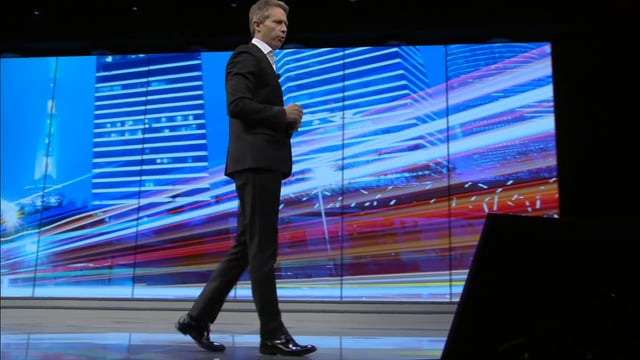 Disruptive Trends with Luke Williams at HPE Discover 2016