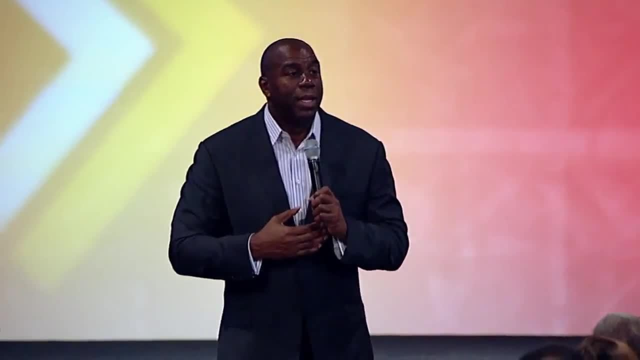 Magic Johnson: Proving People Wrong