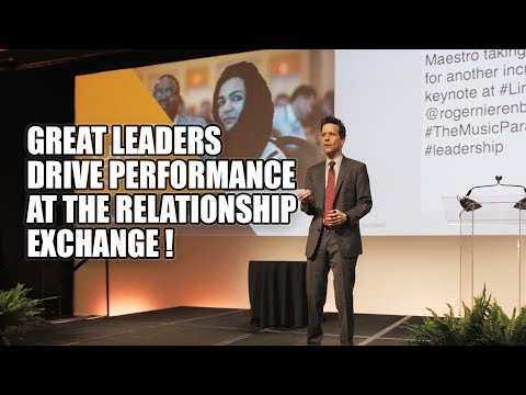 Tim Sanders: Great Leaders Drive Performance At The Relationship Exchange