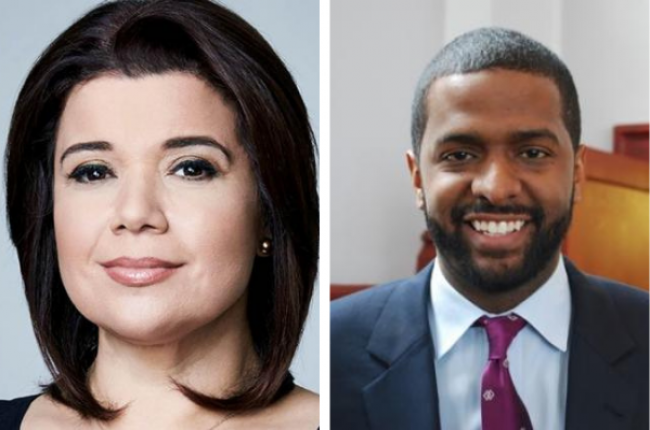 Ana Navarro and Bakari Sellers