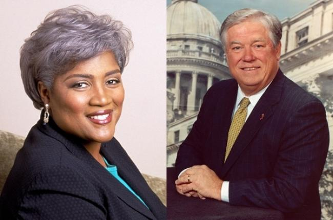 Donna Brazile & Haley Barbour