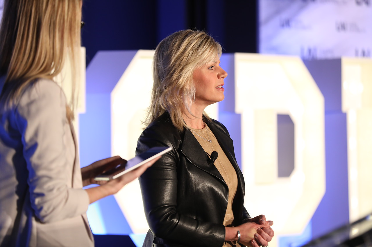 Gretchen Carlson Speaking at 2018 Inspire Conference.