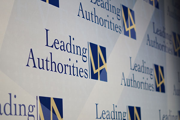 Leading Authorities speakers bureau logo